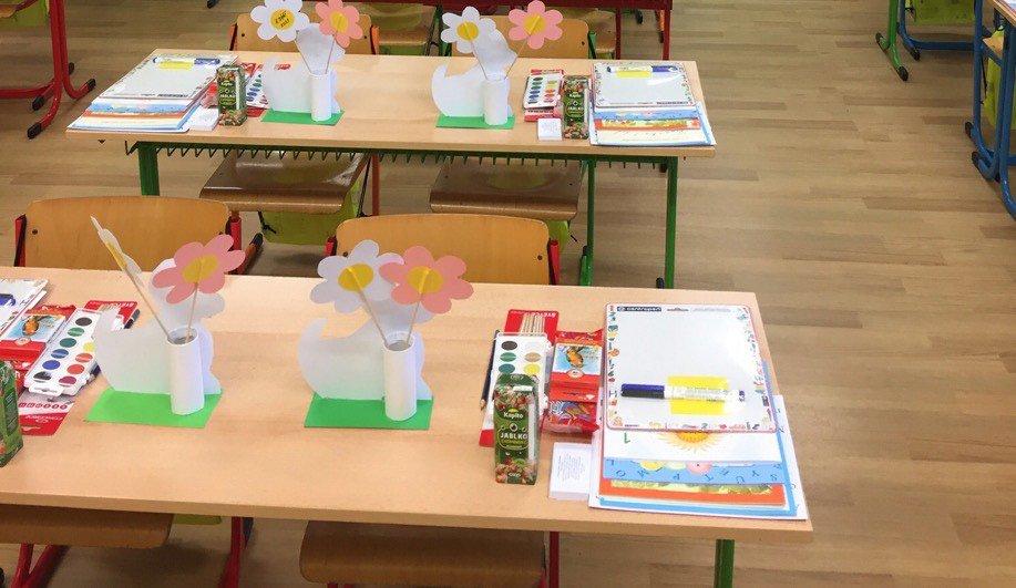 První školní den – Příprava třídy (1.9.2021)
